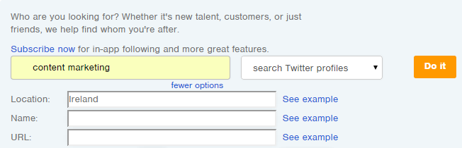 How to Set Up Followerwonk the Twitter Follower Analyser Tool