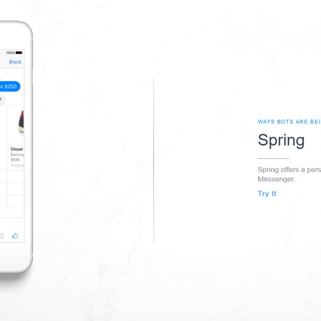 Chatbots on Messenger Facebook Shopping