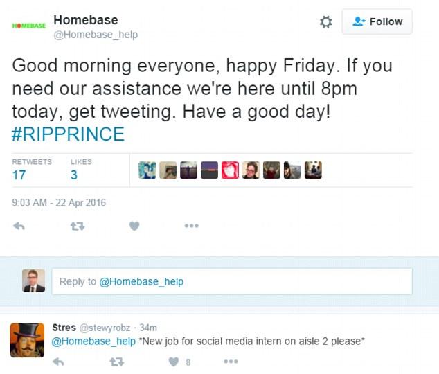 Homebase Tweet Happy Friday