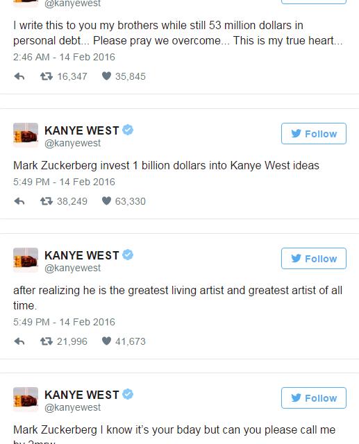Kanye West Marketing Twitter