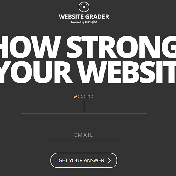 Hubspot's Website Grader