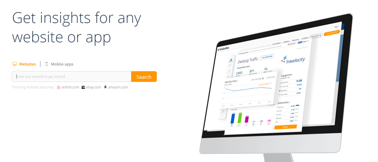 SimilarWeb Get Insights for any Website or App