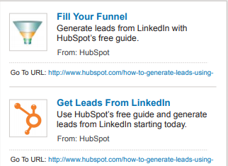generate leads free Hubspot guide, facebook compared to linkedin