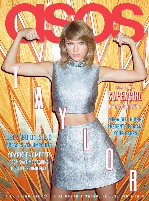 Custom publishing: Asos magazine with Taylor Swift