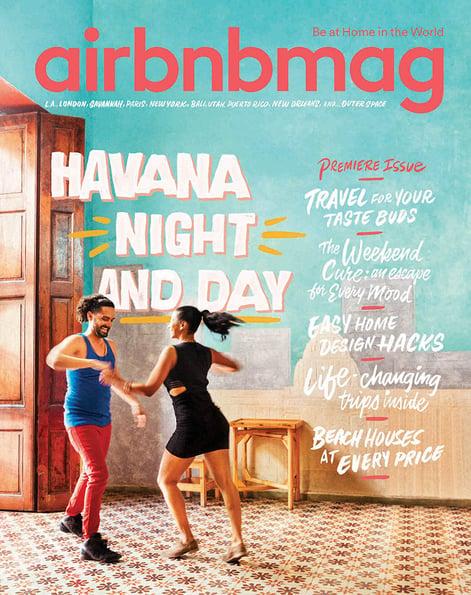Custom publishing: Airbnb magazine