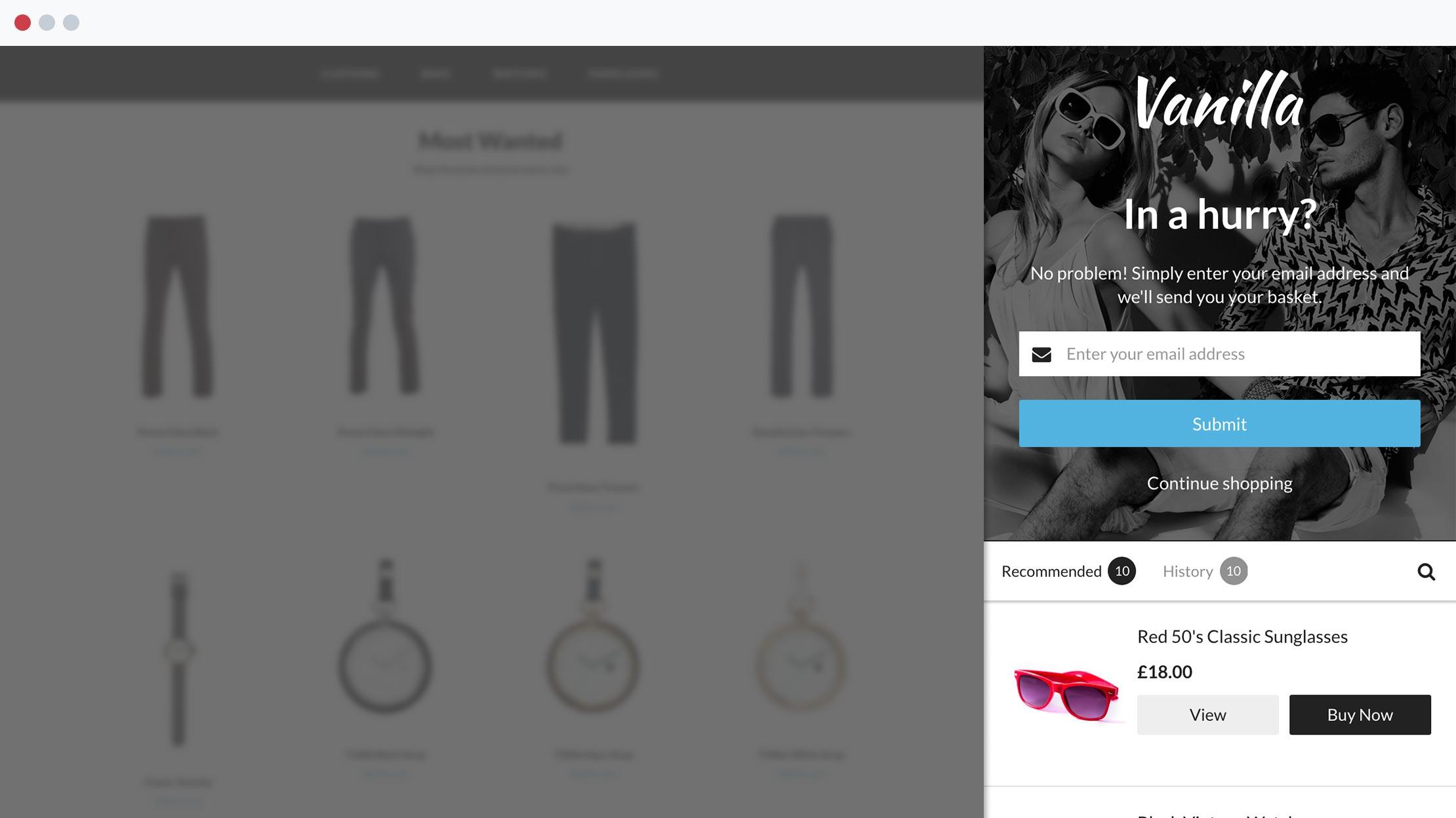 Website personalisation techniques