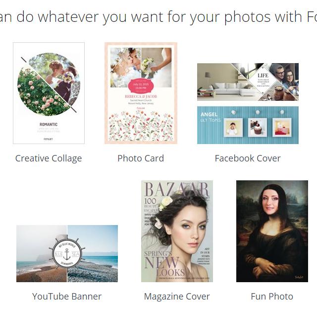 FotoJet online collage maker