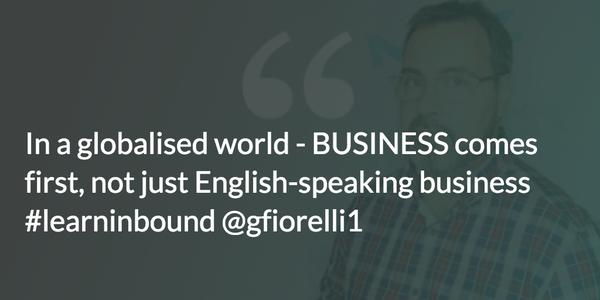 Gianluca Talks about Globalisation Takeaways from Learn Inbound