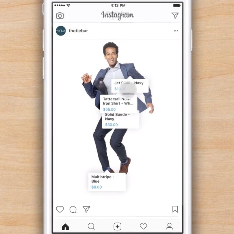 instagram in-stream shopping, social media marketing, increase revenue directly from social