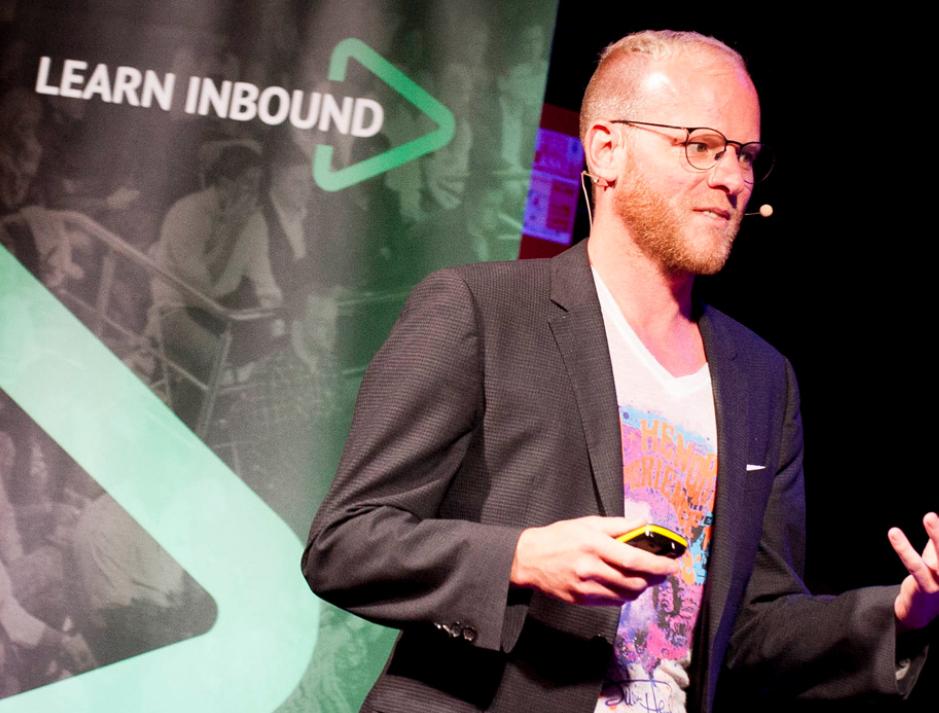 oli gardner learn inbound, Learn Ibound 2017, content marketing strategy