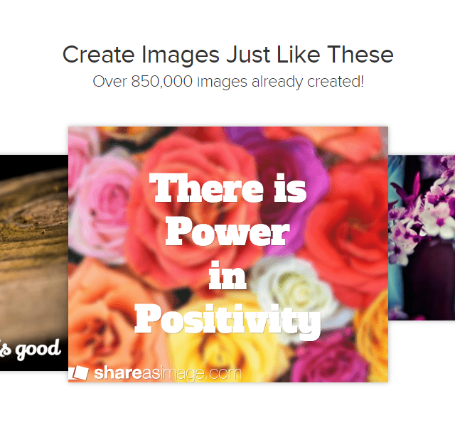 Share as Image Create Free Text-Based Images Free Marketing Tool