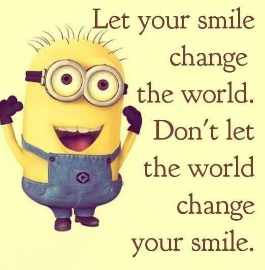 Minion Inspirational Quote