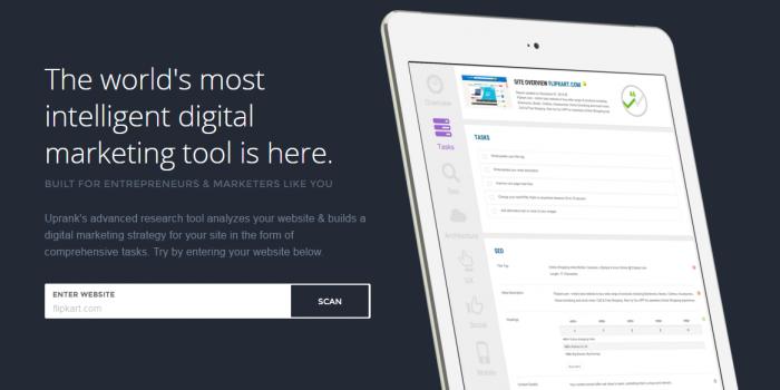 Uprank Intelligent Research Marketing Tool