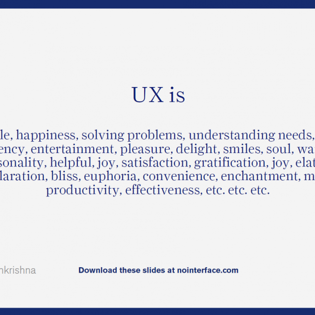 What is UX and the Future of UX