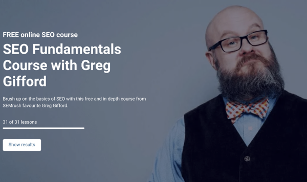 SEO Fundamentals Course