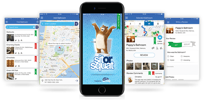 Charmin's Sit or Squat app is a great idea of how a brand can branch out in its content creation without leaving its territory.