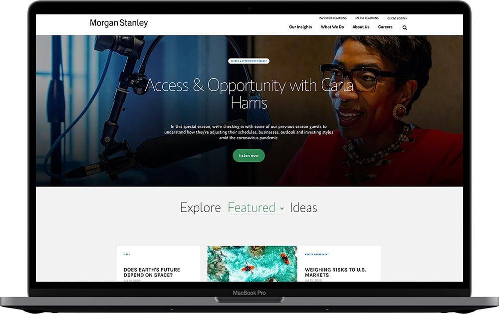 Morgan Stanley's Ideas