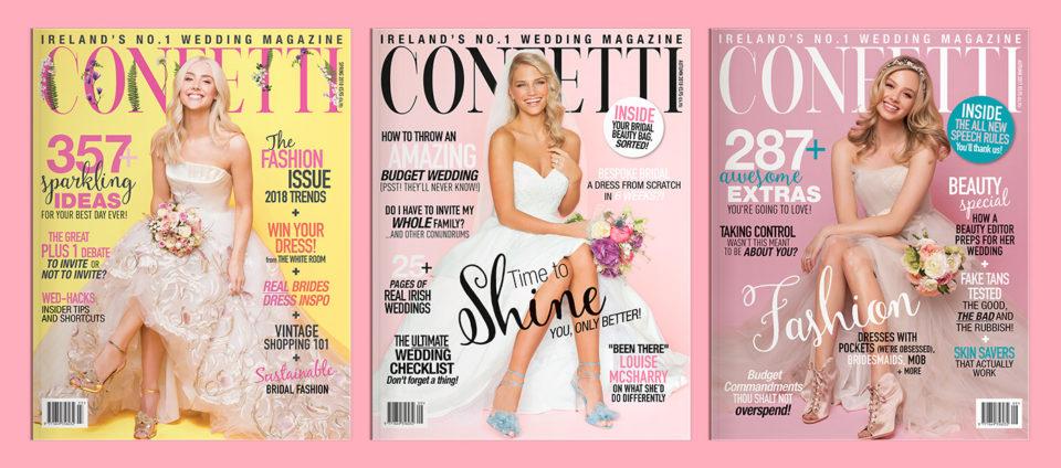 Confetti – print and digital