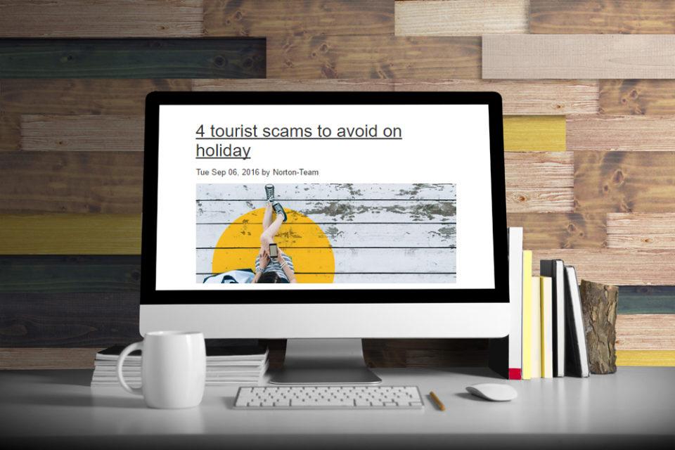 Symantec – Multilingual blogs and infographics