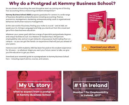 university content marketing, third-level marketing strategy, post-grad marketing